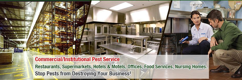 pest control for Commercial, Residential, Industrial.