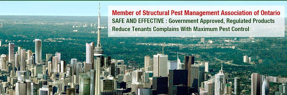 Pest control for property management buildings.